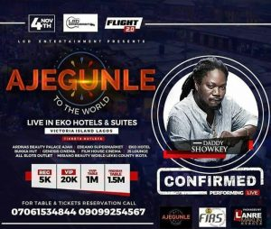 Ajegunle to the World daddy showkey