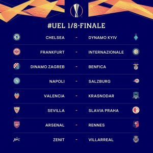 europa league draw round of 16