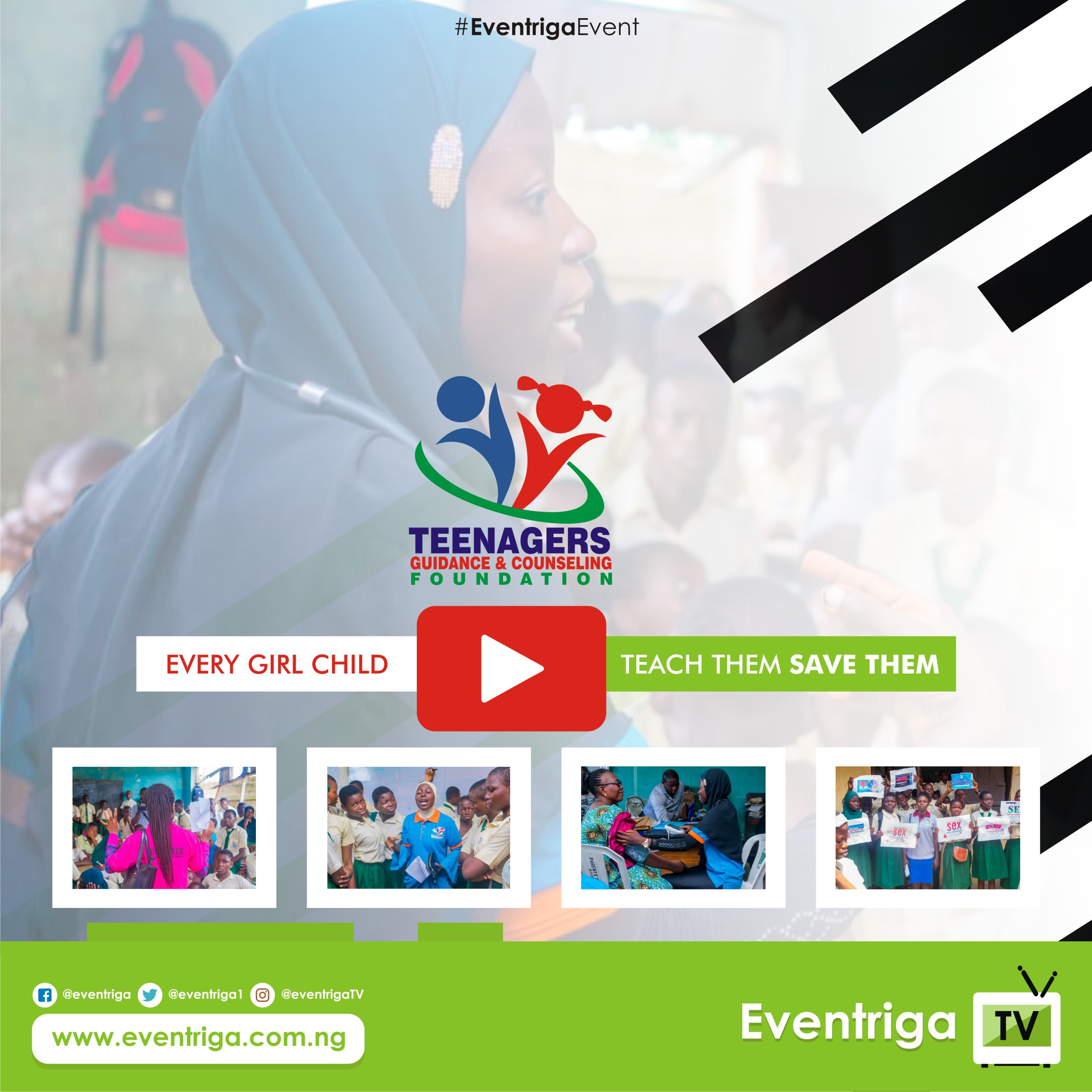 Teenagers Guidance & Counselling Foundation - Eventriga