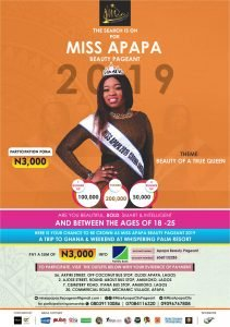 Miss Apapa Beauty Pageant 2019