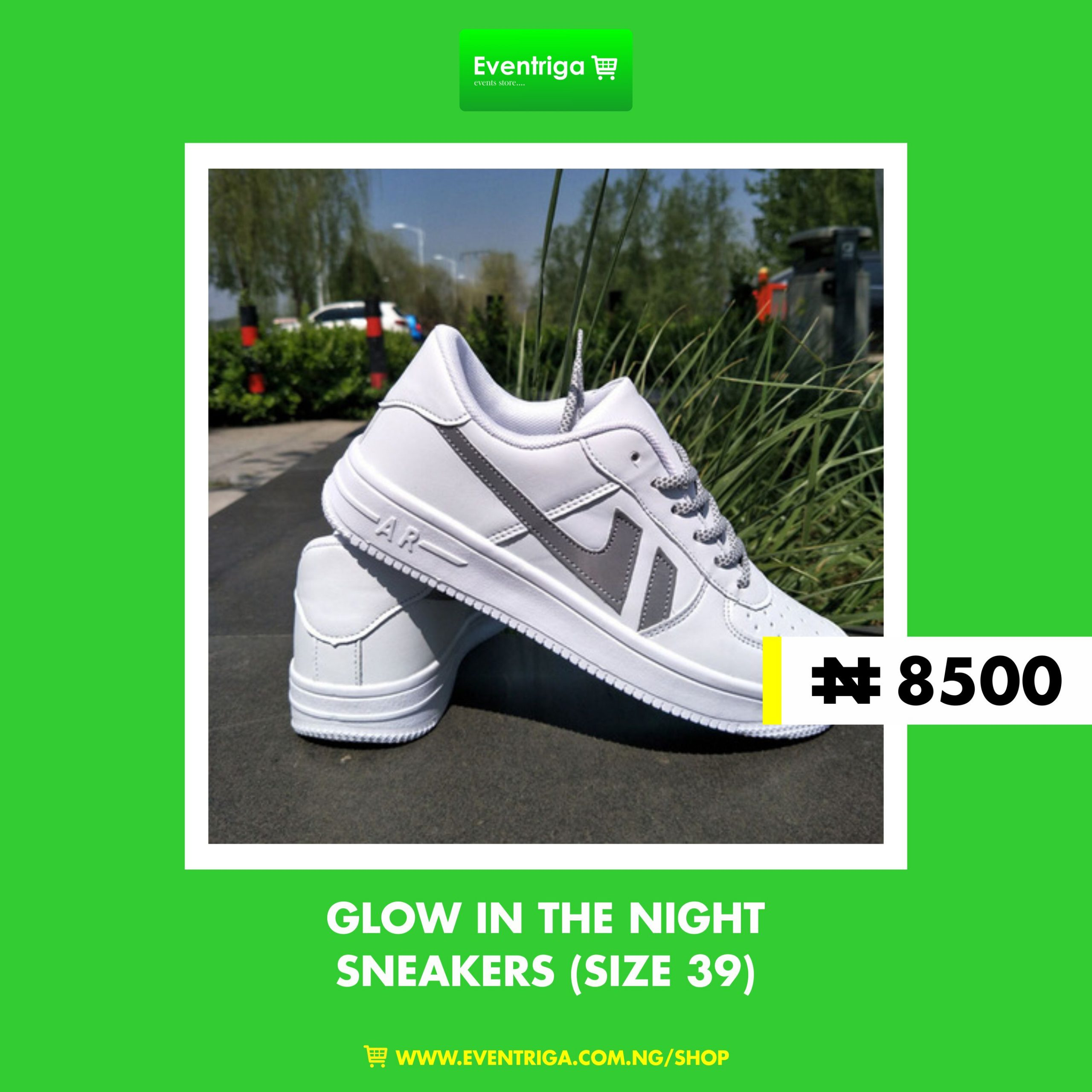 Sneakers – Glow In The Night Unisex Footwear