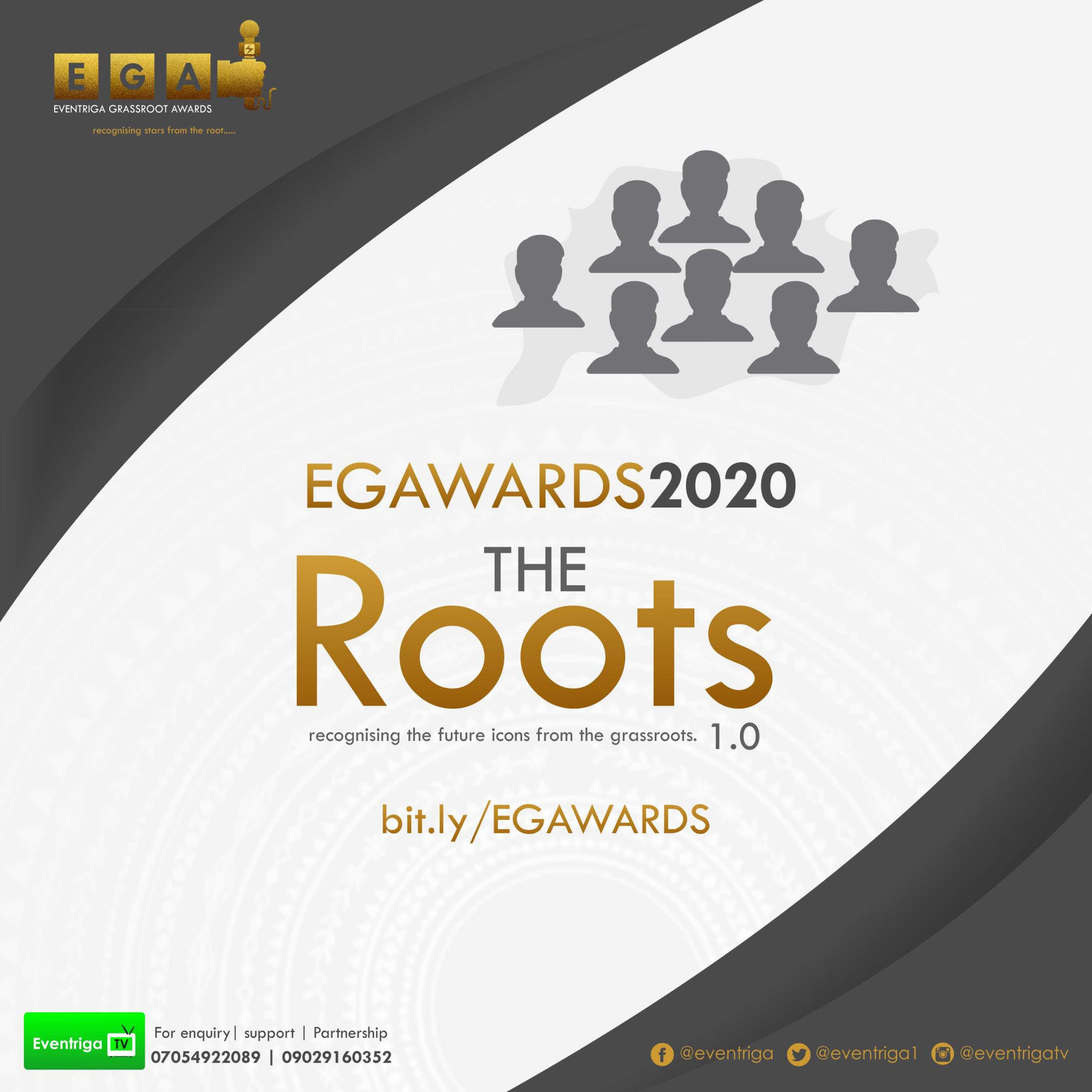 First grassroots awards in Africa Eventriga NG EGAWARDS