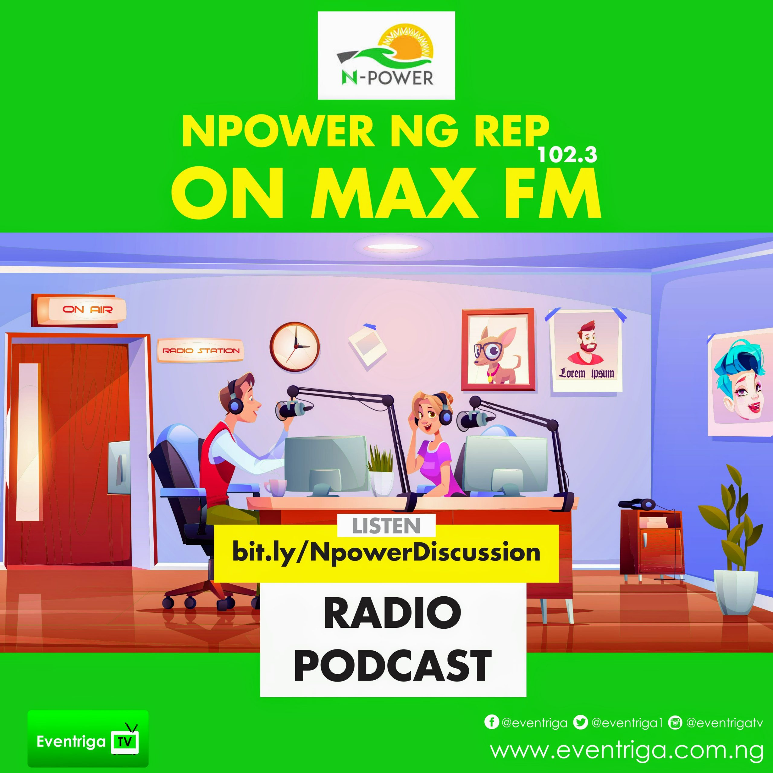 NPOWER NG REP ON MAX FM 102.3~2
