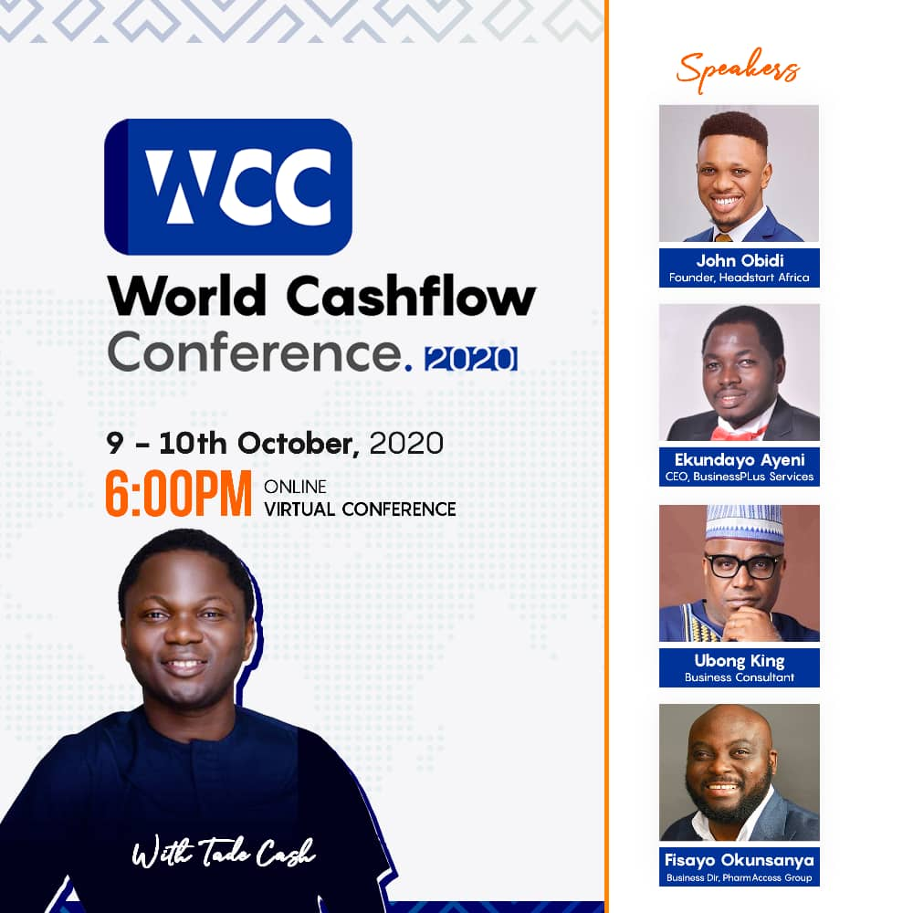 World cashflow conference tade cash eventriga